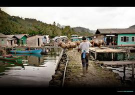Kehidupan Nelayan di Kepulauan Riau