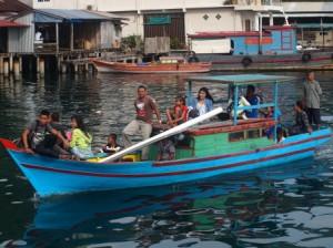 Transportasi Nelayan Antar Pulau di Kepulauan Riau
