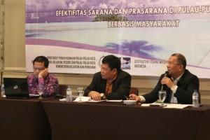 Mendorong Pembangunan Infrastruktur Pulau-Pulau Kecil