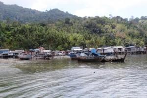 Kapal Sitaan Rusak di Pesisir Kepulauan Anambas