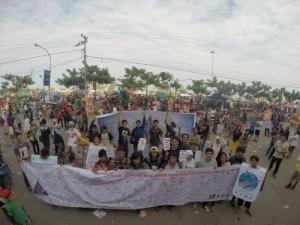 Peringati World Ocean Day & Coral Triangle Day 2014 DFW-Indonesia dan MSDC UNHAS Galang Dukungan Masyarakat Sulawesi Selatan