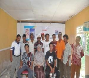 Pelatihan Kelompok Masyarakat Dalam Pembaharuan Data Sederhana Tentang Kondisi pemanfaatan Sumberdaya Pesisir (terumbu karang dan ekosistem mangrove) di Desa Lemito, Kabupaten Pohuwato, Gorontalo