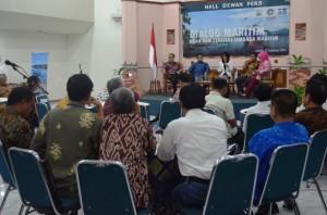 Dialog Maritim - Arah dan Strategi Lembaga Maritim