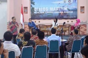 Narasumber Dialog Maritim - Sudirman Saad
