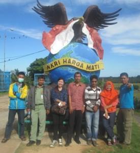 Tugu NKRI Harga Mati di Pulau Sebatik