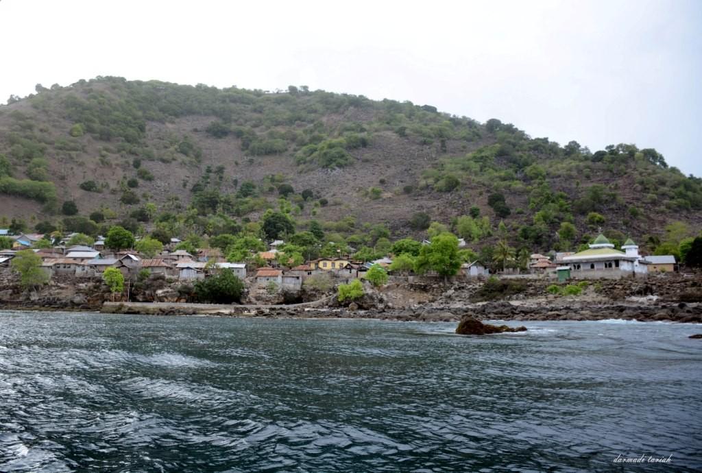Pemukiman di Pulau Treweng