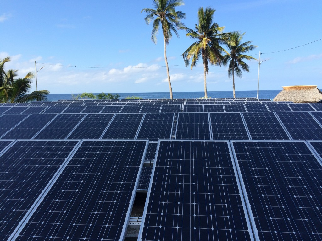 Solar Cell PLTS di Pulau Wetar