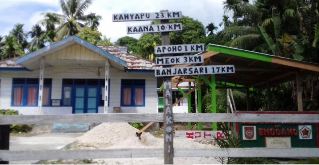 Situasi di Pulau Enggano (foto: Nisrina)