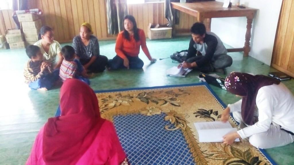 BLS saat meeting bersama anggota kelompok