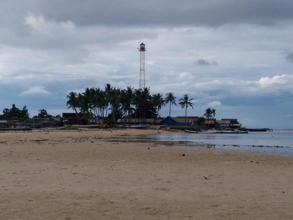 Suasana di Pulau Kodingareng