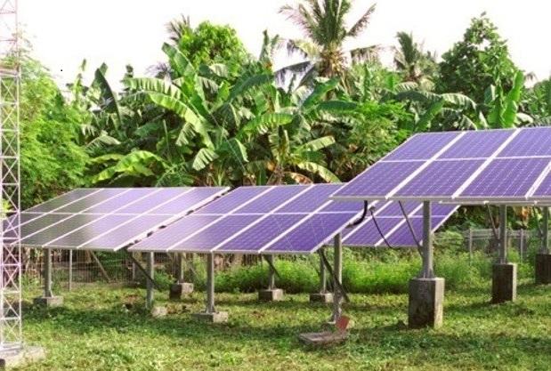PLTS di Pulau Bepondi (foto: Irma Sabriany)