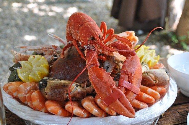 Ilustrasi foto lobster