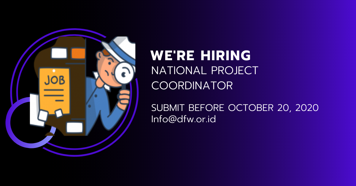 Job Vacancy – National Programe Coordinator